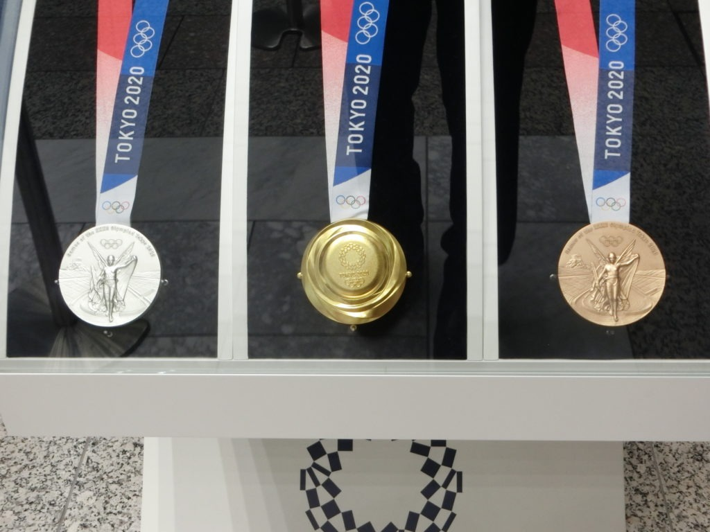 The bullion value of Olympic gold medals isn't that high. Taking current precious metals prices into consideration, Richard Gladdle of Baldwin's Auctions told BBC News the melt value of a gold medal from Tokyo is about $750 right now.
